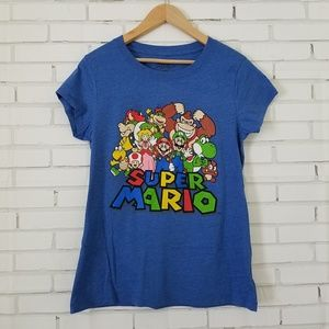 Women's Super Mario Fitted Tee